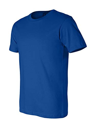 (Bella+Canvas Unisex Jersey Short Sleeve Tee, True Royal,)