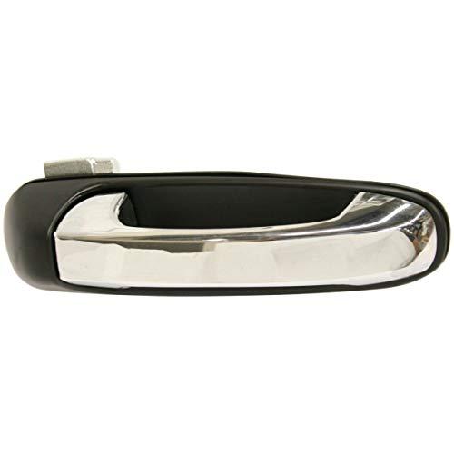 Door Handle For 2007-2009 Chrysler Aspen Rear Right Smooth Black w/Chrome Lever ()