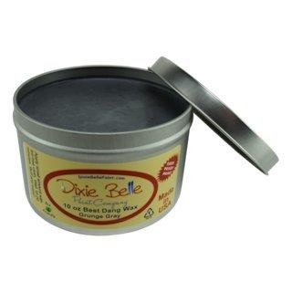 Dixie Belle Paint Company Best Dang Furniture Wax (10oz, Grunge Gray)