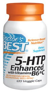 Best 5-HTP Enhanced 120 Vcaps By Doctor's Best by Doctor's Best