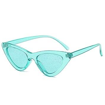 DXXHMJY Gafas de Sol Retro Ojos de Gato Gafas de Sol Mujeres ...