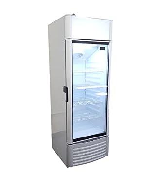 Commercial 9cf Single Glass Door Refrigerator Cooler Merchandiser