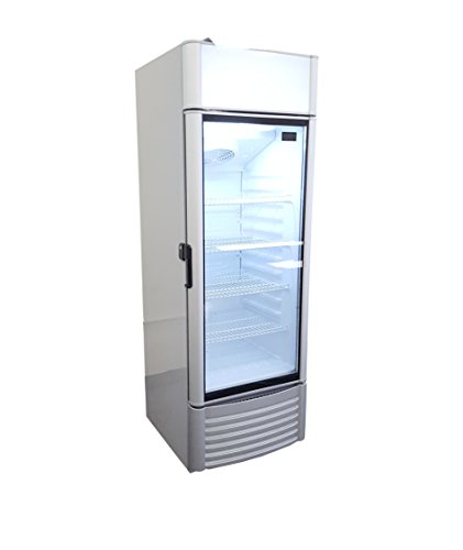 Commercial 9cf Single Glass Door Refrigerator Cooler