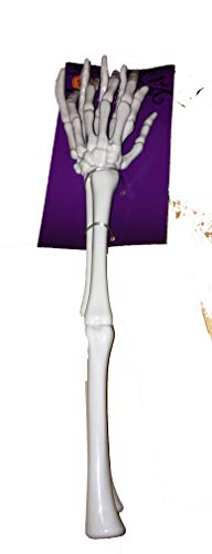 (Halloween Party Decorations Skeleton Hand Tongs 2 Packs of 2 Super Cool Hand Skeletons 13