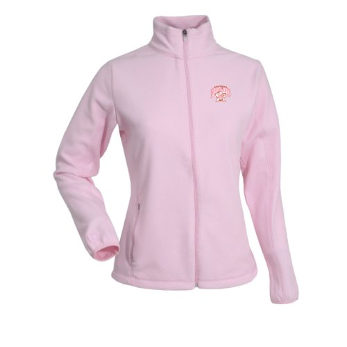 (NCAA Women's Maryland Terrapins Sleet Polar Fleece (Mid Pink, Small))