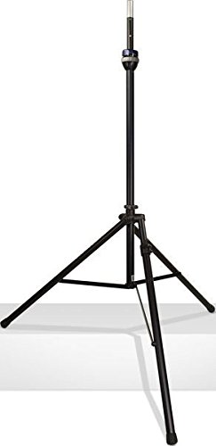 (Ultimate Support TS-99BL - TeleLock Series Lift-assist Aluminum Speaker Stand, w/ Speaker Adapter, Xtra Height, Leveling Leg)