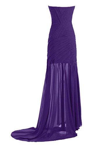 E facile da Ivydressing EF-linea a forma di cuore-taglio Bete dell'abito un'ampia vestito da sera viola 36