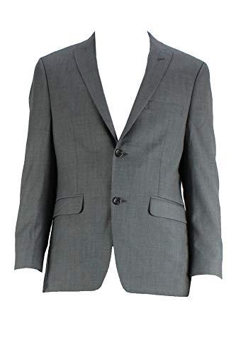 Alfani Men's Brown Pinpoint Slim Fit Jacket S ()