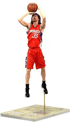 Charlotte Bobcats Jersey (NBA Series 14: Charlotte Bobcats - Adam Morrison- Orange Jersey)