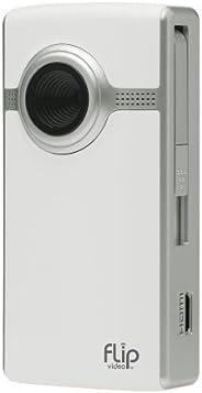 Flip UltraHD Video Camera - White, 4 GB, 1 Hour