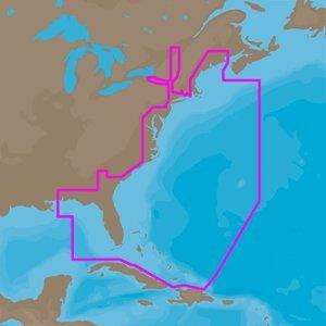 C-card Format Port (C-MAP 4D NA-D022 - USA East Coast & Bahamas - Full Content (48107))