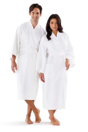 Boca Terry Womens Bathrobe Seashell