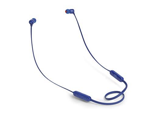 JBL Tune110BT In-Ear Bluetooth-Kopfhörer - Kabellose Ohrhörer mit integriertem Mikrofon - Musik Streaming bis zu 6 Stunden mit nur einer Akku-Ladung Blau
