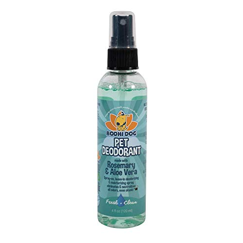 (Natural Pet Cologne | Cat & Dog Deodorant and Scented Perfume Body Spray | Clean and Fresh Scent | Natural Deodorizing & Conditioning Qualities | Made in USA - 1 Bottle 4oz (120ml) (Fresh & Clean))