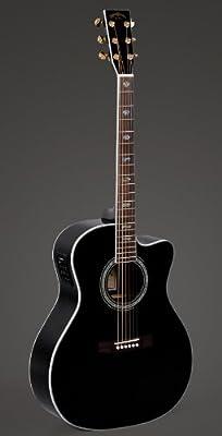 Sigma guitarras JRC – 40e-bk black-standard serie: Amazon.es ...