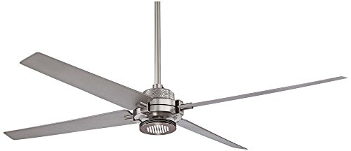 """Minka-Aire F726-BN/SL, Spectre Brushed Nickel 60"""" Ceiling Fa"""