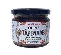 Trader Joe's Olive Tapenade With Kalamata And Chalkidiki Olives 9.5 oz (Case of 4) by Trader Joe's