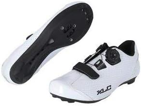 2500080970VAR - Zapatillas Ciclismo Bicicleta Carretera CB-R09 Color Blanco Talla 44: Amazon.es: Coche y moto