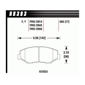 Hawk-Performance-HB393F665-HPS-Performance-Ceramic-Brake-Pad-by-Hawk