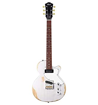 Cort Sunset TC - Guitarra eléctrica serie Sunset - Worn White Blonde: Amazon.es: Instrumentos musicales