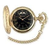 Black Hills Gold Men's Black Face Pocket Watch, Watch Central