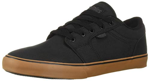 Etnies Men's Division Skate Shoe, Black/Gum, 8 Medium US