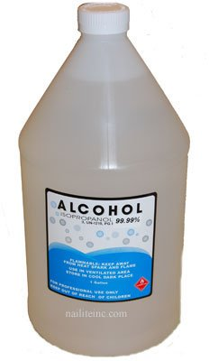 1 Gallon Isopropyl Alcohol Grade 99% Anhydrous Alcohol Gallon for nail salon supplies & 3D printing, bed bugs killer & general purpose cleaner Alcohol bulk by B.N.D TOP ()