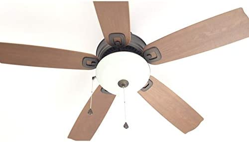 52-in Dark Bronze Downrod Mount Indoor Ceiling Fan with Light Kit Harbor Breeze E-RLG52NWZ5C Harbor Breeze E-RLG52NWZ5C UPC 080629171916 Format Bronze
