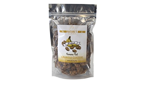 Nature's Summit Granola Clusters, Branana Nut, 6 Ounce (Pack of 3)