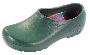 Jolly pantoufle ''Jolly Fashion'' de PU en Vert 39.0 EU N