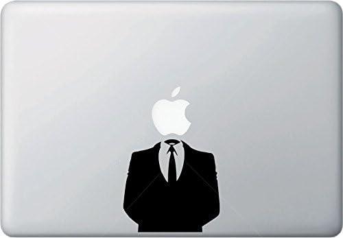 Yadda-Yadda Design Co. Anonymous Suit - MacBook Vinyl Decal Sticker (13