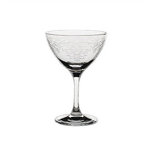 Steelite Vintage Lace Martini / Cocktail Glasses, Set of 6 by RONA