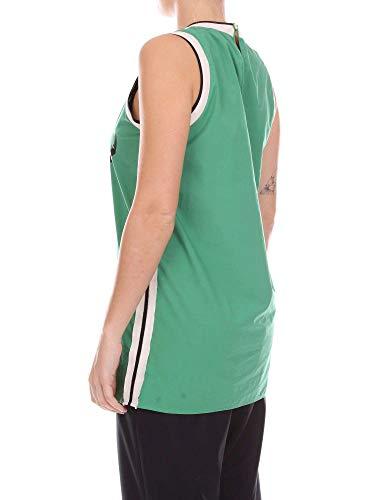Mujer Top 108539p8214 Alysi Verde Y Beige WH5nEz6nZ