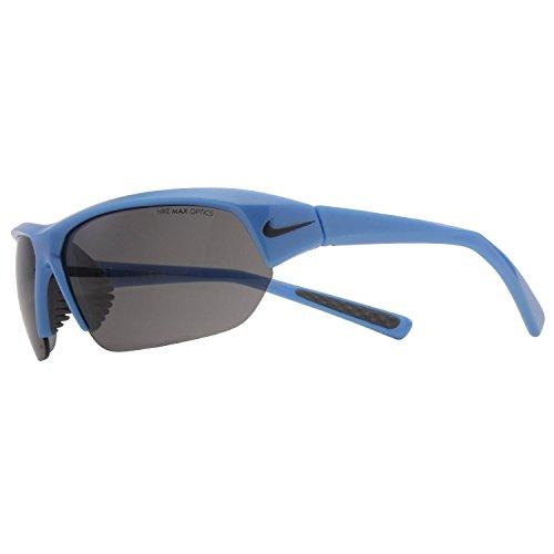 Nike Skylon Ace Sunglasses (Light Blue (Blue Obsidian Swoosh) Frame, Grey Lens)