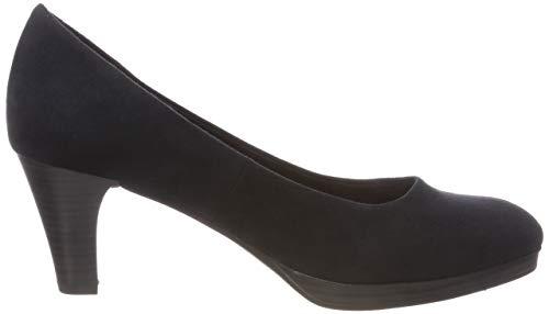Zapatos Marco navy 840 2 21 840 Tacón Azul 22413 Para Mujer Tozzi De 2 dk xFqxap