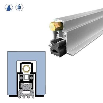 Heavy Duty Neoprene Sponge Seal Anodized Aluminum Automatic Door Bottom