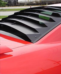 Willpak Industries 8048 ABS Classic Style Design Truck Rear Window Louver for Ford Ranger