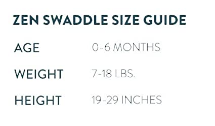 Up to 29 Swaddle 2-in-1 Size Classic Zen Swaddle Grey Mist Weighted Swaddle Blanket to Mimic Mothers Touch and Grow with Baby 100/% Cotton. 0 to 6 Months