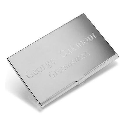 Amazon Silver Business Card Case Business Card Holders