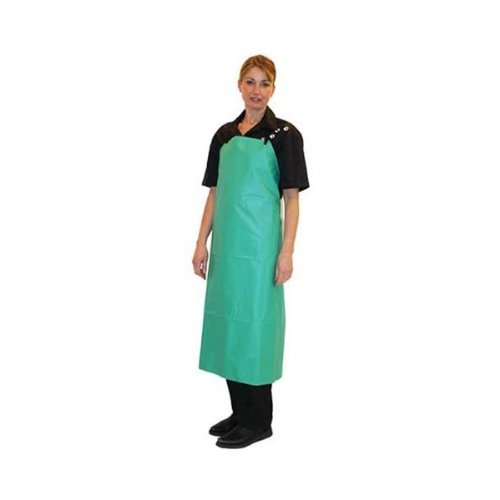 - PVC Heavy Duty Green Apron {20 mil}