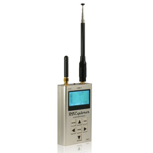 RF Explorer and Handheld Spectrum Analyzer 3G Combo with Aluminium Case