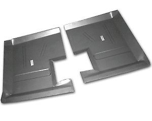 Motor City Sheet Metal - Works With 1960 1961 1962 1963 1964 1965 FORD FALCON COMET RANCHERO REAR FLOOR PANS PAIR