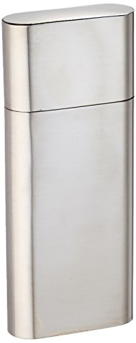 Visol Products Livorno Stainless Steel 3-Finger Cigar Case -