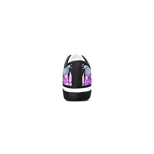 Custom Sneaker D Fashion Story Flower Canvas Nonslip Skull Womens Shoes FwTAw