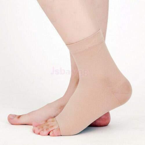 FidgetGear 30-40mmHg Compression Foot Ankle Sleeves Plantar Fasciitis Relief Gym Socks Wrap Small ()