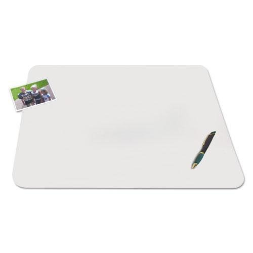 ARTISTIC OFFICE PRODUCTS Matte 17 x 12 Inches Clear KrystalView Desk Pad with Microban (AOP60740MS)
