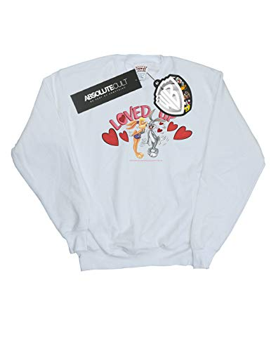 Absolute Lola Felpa Loved Day Valentine's e Up Tunes con Looney Bugs Cult Bunny Blanc cappuccio Fille xrna0rf1q