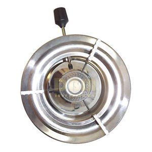 Stainless Steel Portable Butane Burner Fondue Cooking Buffet Food Plate Warmer