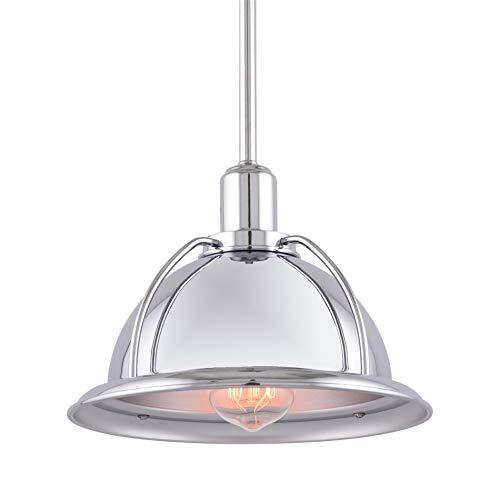 Silver Bell Pendant Light