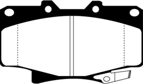 EBC Brakes UD502 Ultimax OEM Replacement Brake Pad